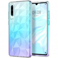 Силиконовый чехол Prism Case Huawei P30 (прозрачный)