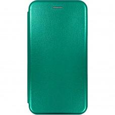 Чехол-книжка Оригинал Samsung Galaxy A12 (2020) (Тёмно-зелёный)