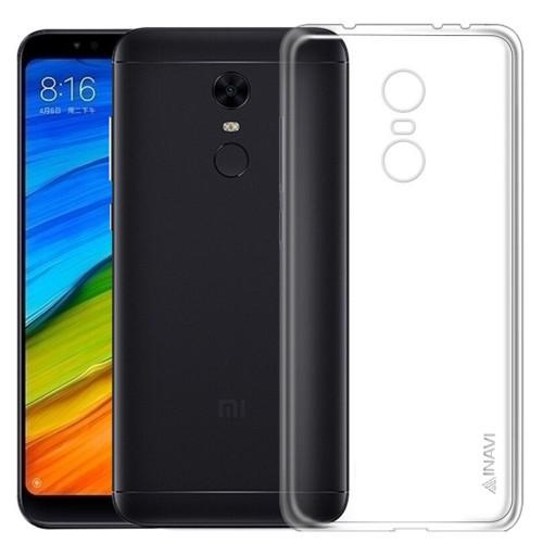 Силиконовый чехол iNavi Color Xiaomi Redmi 5 Plus (Прозрачный)