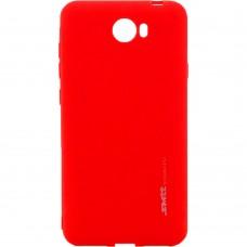 Силиконовый чехол SMTT Huawei Y5-II (Красный)