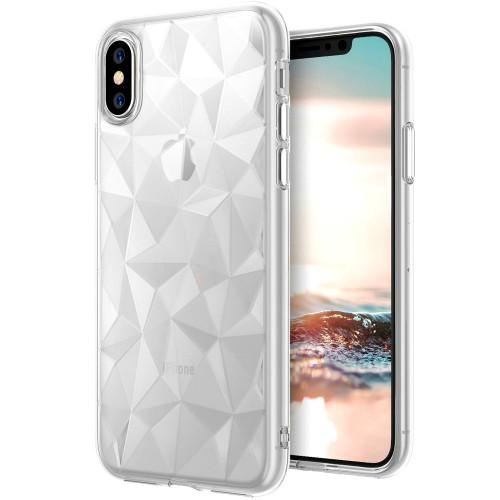 Силикон Prism Case Apple iPhone X / XS (прозрачный)
