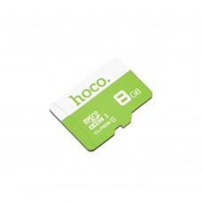 Карта памяти Hoco MicroSDHC 8Gb (зелёный)