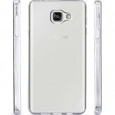 Силикон QU Case Samsung A3 (2016) A310 (Прозрачный)