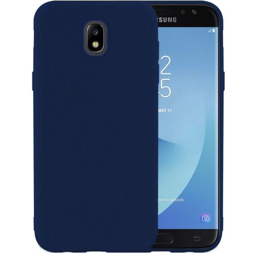 Силикон iNavi Color Samsung Galaxy J7 (2017) J730 (темно-синий)