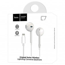 Гарнитура Hoco L7 Bluetooth (Lightning) (White)