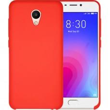 Силикон Original Case Meizu M6s (Красный)