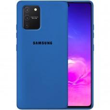 Силикон Original Case Samsung Galaxy S10 Lite (Кобальт)