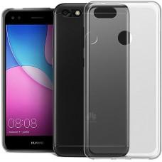 Силиконовый чехол WS Huawei Nova Lite (2017) (прозрачный)
