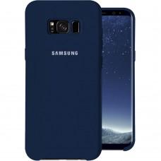 Силикон Original Case (HQ) Samsung Galaxy S8 Plus (Тёмно-синий)