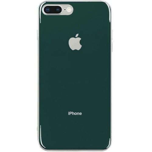 Силиконовый чехол Zefir Case Apple iPhone 7 Plus / 8 Plus (Темно-зелёный)