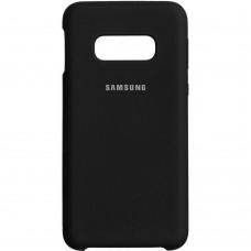 Силикон Original Case (HQ) Samsung Galaxy S10e (Чёрный)
