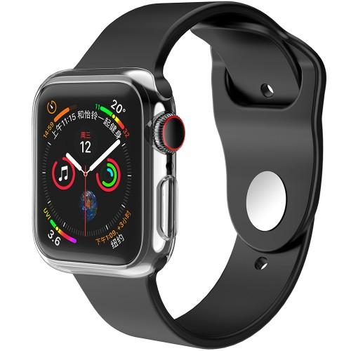 Силиконовый чехол WS Apple Watch 38 / 40 mm (прозрачный)