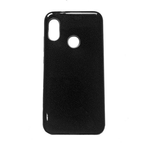 Силиконовый чехол Glitter Xiaomi Redmi Note 5 / Note 5 Pro (Черный)