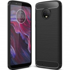 Силикон Polished Carbon Motorola G6 (Чёрный)