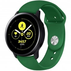 Ремешок Silicone Band Samsung Gear S2 / S3 20mm (Green) Gadgik