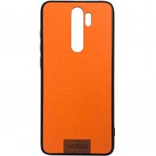 Силикон Remax Tissue Xiaomi Redmi Note 8 Pro (Оранжевый)