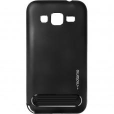 Бампер Motomo Metal Samsung Galaxy G360 (Чёрный)