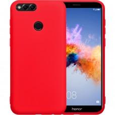 Силикон iNavi Color Huawei Honor 7X (Красный)