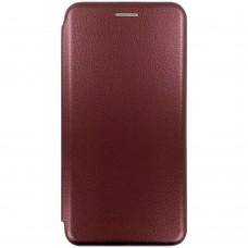 Чехол-книжка Оригинал Huawei P30 Lite (Бордовый)