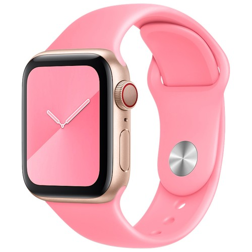 Ремешок Apple Watch Silicone 38 / 40mm (36) Candy Pink