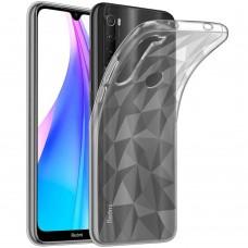 Силикон Prism Case Xiaomi Redmi Note 8T (Прозрачный)