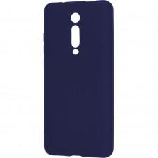 Силиконовый чехол iNavi Color Xiaomi Redmi Mi9T / K20 Pro (Тёмно-синий)