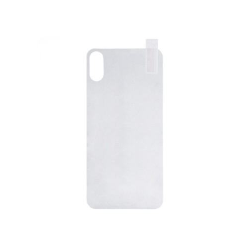 Защитное стекло (NP) BACK iPhone X White