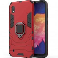 Бронь-чехол Ring Armor Case Samsung Galaxy A10 (2019) (Красный)
