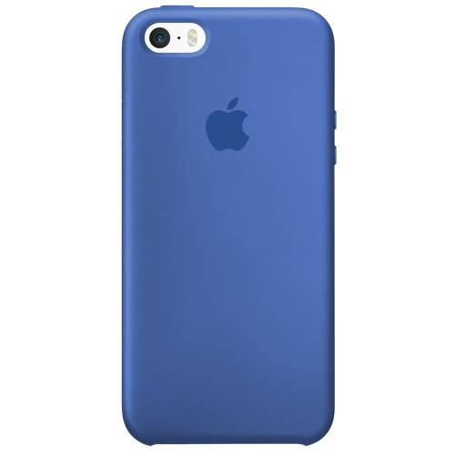 Силиконовый чехол Original Case Apple iPhone 5 / 5S / SE (12) Royal Blue