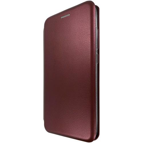 Чехол-книжка Оригинал Huawei P Smart (2019) / Honor 10i (Бордовый)