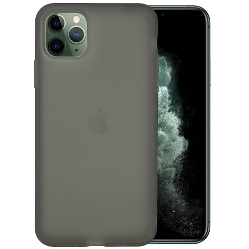 Силикон TPU Latex Apple iPhone 11 Pro Max (Черный)