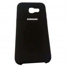 Силикон Original Case Samsung Galaxy A5 (2017) A520 (Чёрный)