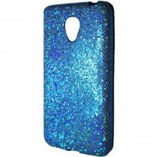 Силиконовый чехол Glitter Meizu M2 Mini (голубой)