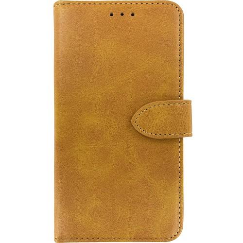 Чехол-книжка Leather Book Xiaomi Redmi Note 5 / Note 5 Pro (Светло-коричневый)