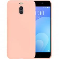 Силиконовый чехол iNavi Color Meizu M6 Note (Розовый)