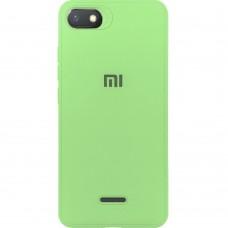 Силиконовый чехол Junket Case Xiaomi Redmi 6a (Зелёный)