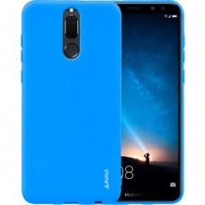 Силикон iNavi Color Huawei Mate 10 Lite (голубой)
