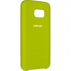 Силикон Original Case Samsung Galaxy S7 (Лайм)