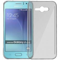 Силикон WS Samsung Galaxy J1 Ace J110 (Серый)