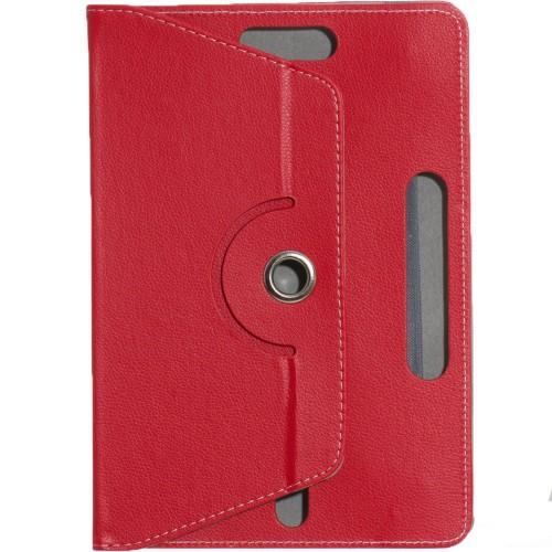 "Чехол-книжка Universal Flat Leather Pad 10"" (Красный)"