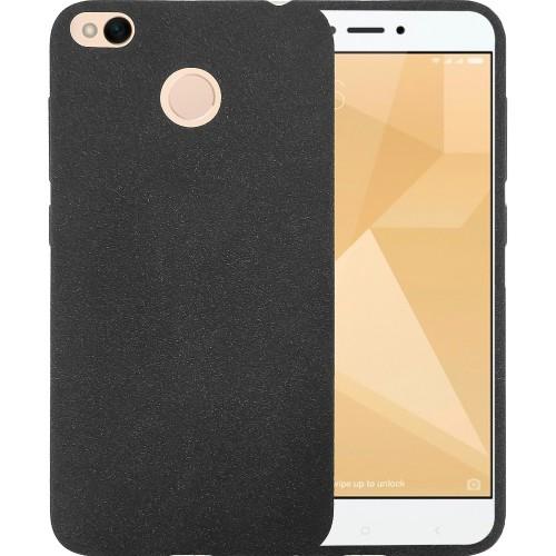 Силикон Textile Xiaomi Redmi 4x (Чёрный)