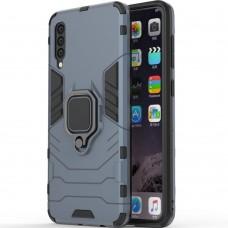 Бронь-чехол Ring Armor Case Samsung Galaxy A30s / A50 / A50s (2019) (Пыльная бирюза)