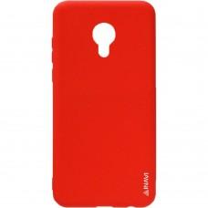 Силиконовый чехол iNavi Color Meizu M5 Note (Красный)