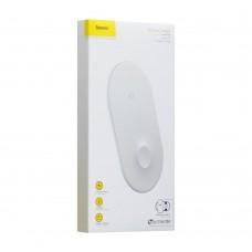 Беспроводное зарядное устройство Baseus Smart 2in1 (Белый)