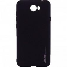 Силиконовый чехол SMTT Huawei Y5-II (Черный)