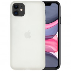 Силикон TPU Latex Apple iPhone 11 (Белый)