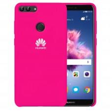 Силикон Original Case Huawei P Smart (Малиновый)