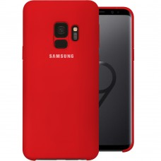 Силикон Original Case (HQ) Samsung Galaxy S9 (Красный)