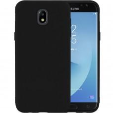 Силикон iNavi Color Samsung Galaxy J7 (2017) J730 (черный)