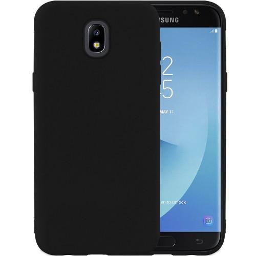 Силиконовый чехол iNavi Color Samsung Galaxy J7 (2017) J730 (черный)